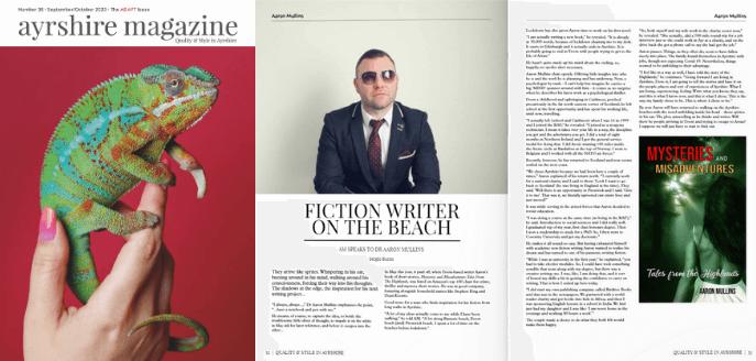 Aaron Mullins Ayrshire Magazine Interview