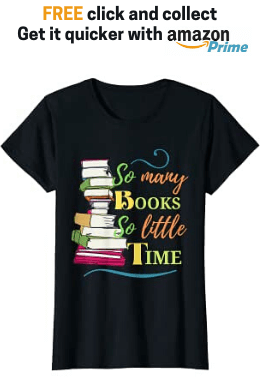 T Shirts Gifts for Book Lovers Womens Mens Readers Writers Authors