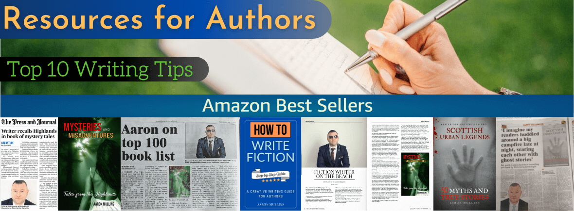 Top 10 Writing Tips for Authors Writers Guide Resources