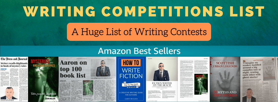 Writing Competitions List Short Stories Poetry Contests UK Best Authors Writers